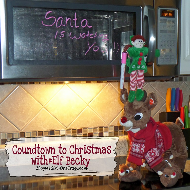 Elf Magic Countdown to Christmas Day 11 #Elfcapades