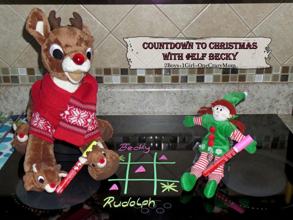Elf Magic Countdown to Christmas Day 13 #Elfcapades