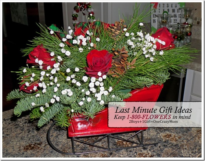 Last Minute #GiftIdea with 1-800-FLOWERS will be a hit #Giveaway