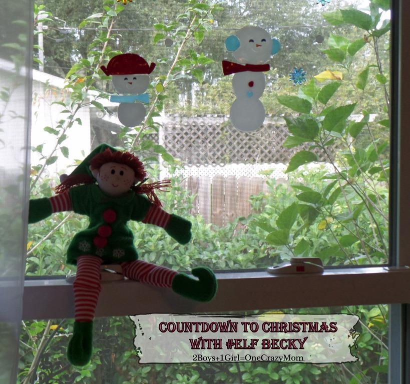 Elf Magic Countdown to Christmas Day 17 #Elfcapades