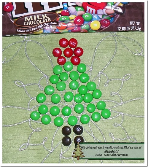 Gift Giving made easy if you add Forza5 and M&M's to the list #FueledbyMM #shop
