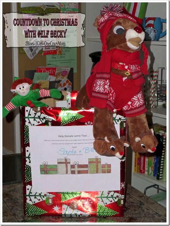 Elf Magic Countdown to Christmas Day 19 #Elfcapades