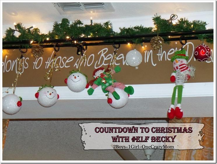 Elf Magic Countdown to Christmas Day 20 #Elfcapades
