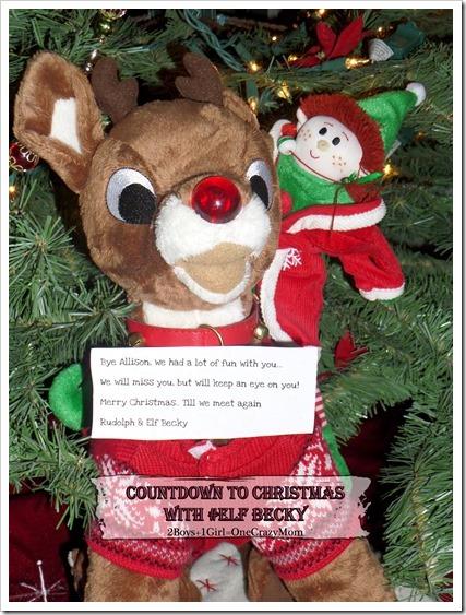 Elf Magic Countdown to Christmas Day 23 #Elfcapades ~ Christmas Eve