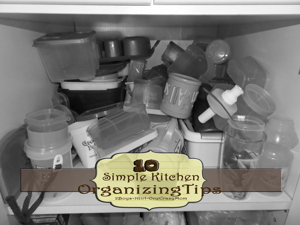 Organize your Kitchen with 10 simple tips and keep the clutter away for good