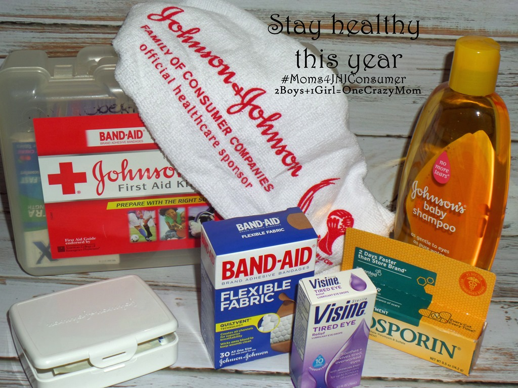 Now is the perfect time for a fresh start to your healthcare routine and freshen up your First Aid Kit #Moms4JNJConsumer