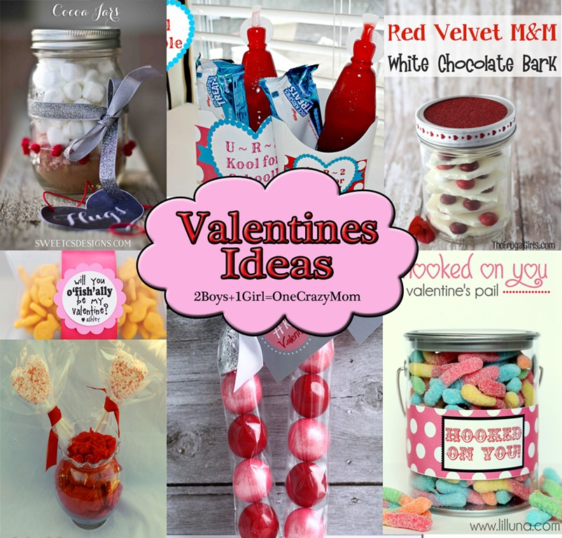 Cute Valentines #Craft Ideas perfect for the kids to give and ...