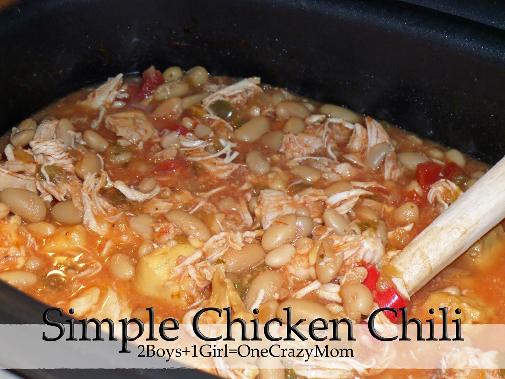 This is how to make this Super Easy Chicken Chili
