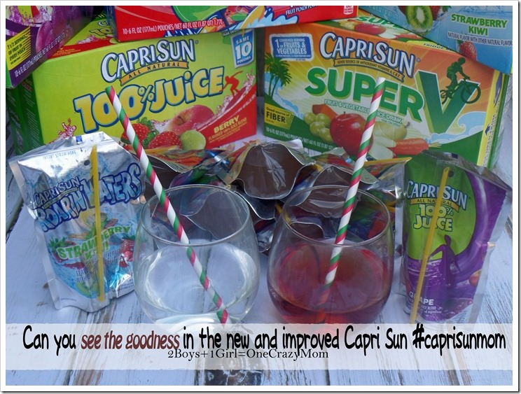 Always have and always will love Capri Sun now you can #seethegoodness #caprisunmom