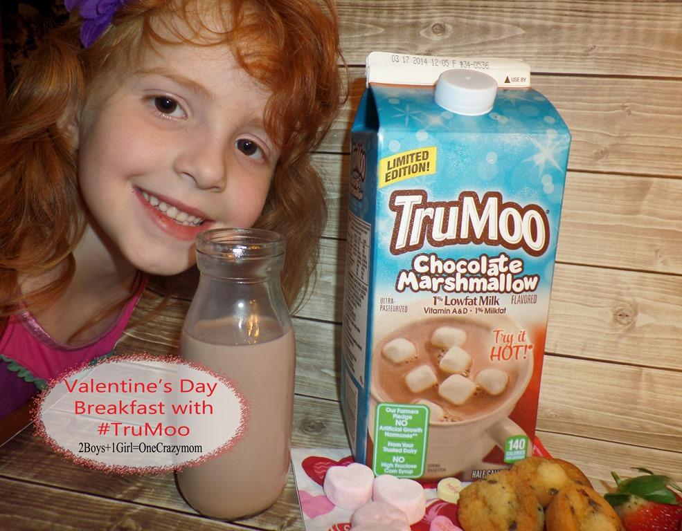 Dish up a simple Valentines Day Breakfast with #TruMoo and enter to win a $500 Target Gift Card
