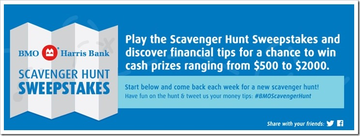 Come check out BMO Harris Bank Scavenger Hunt Week 2 how you can prepare for a new job and enter to #WIN up to $2000 #BMOScavengerHunt