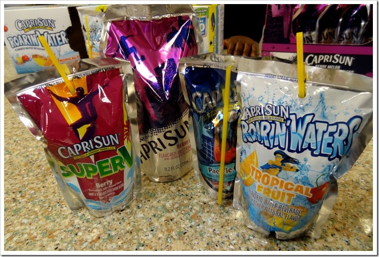 Capri Sun's latest innovation ~ new clear bottom pouch lets you see what you're drinking #caprisunmom #seethegoodness