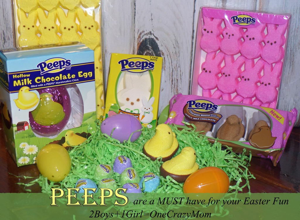 Easter is a lot more fun when you put Peeps in it #Recipe and #Craft Ideas
