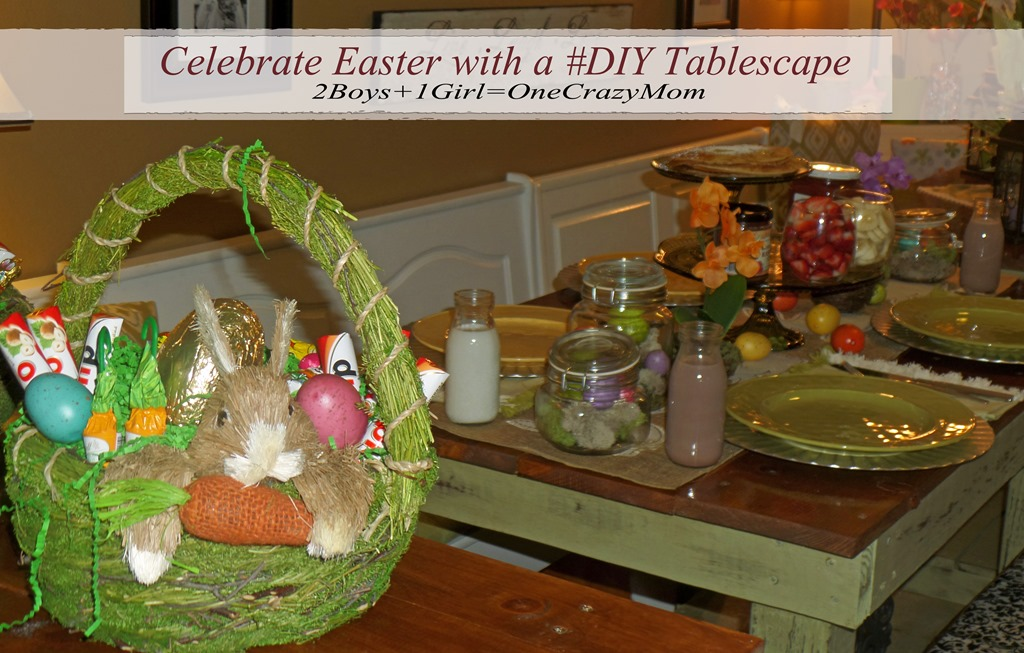 Get some Easter #DIY ideas from Baskets to Tablescape and enter the #HopItForward Sweepstakes at World Market