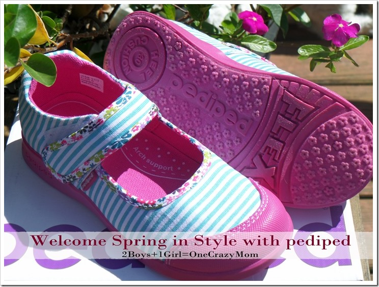 Welcome spring in style with a new pair of pediped shoes #Review