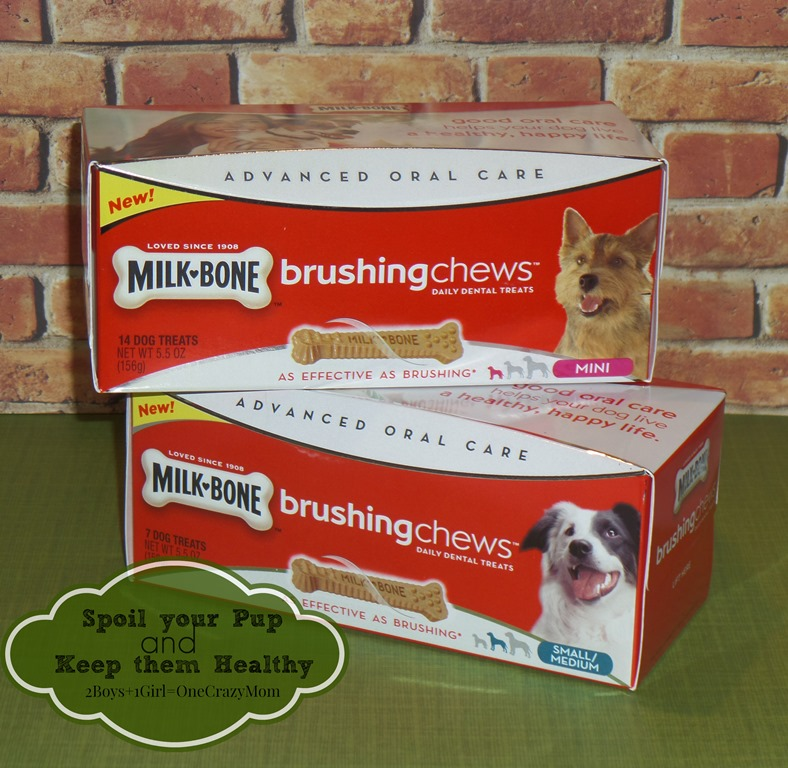 Milk Bone has your pooch brushing his teeth #Review