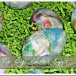 Tie Dye Easter Eggs with Shaving Cream #DIY