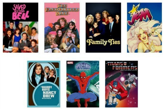 "Netflix is my ""Comfort Food"" with Throwback shows #TBT"