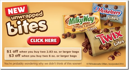 Let's #EatMoreBites and grab an awesome Twix Bites Coupon #CollectiveBias