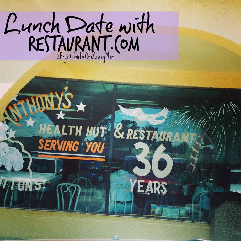 Looking for a lunch date ~ take Restaurant.com and explore your town #ReviewCrew