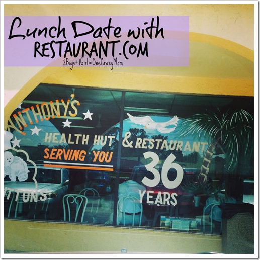 Lunch Date with Restaurant #ReviewCrew Anthonys Health Hut Lakeland Florida 4