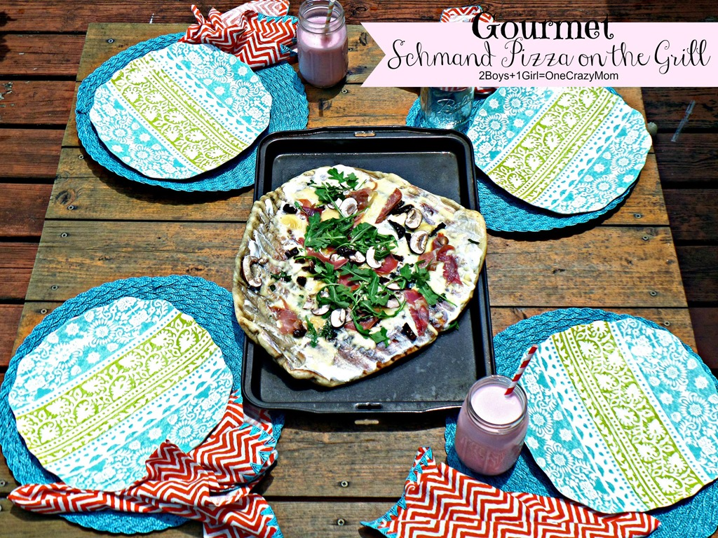 Welcome Summer in Style with a fun Gourmet Pizza Party and enter a #SummerGetaway