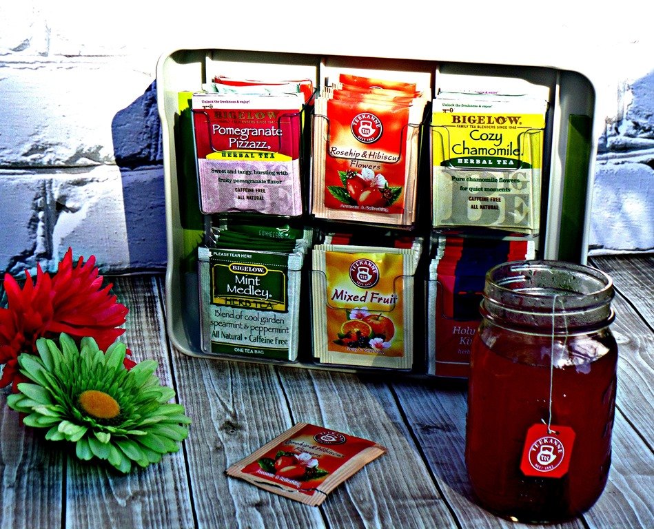 Enjoy Teatime in Style and check out some Summertime Iced Tea ideas #organized