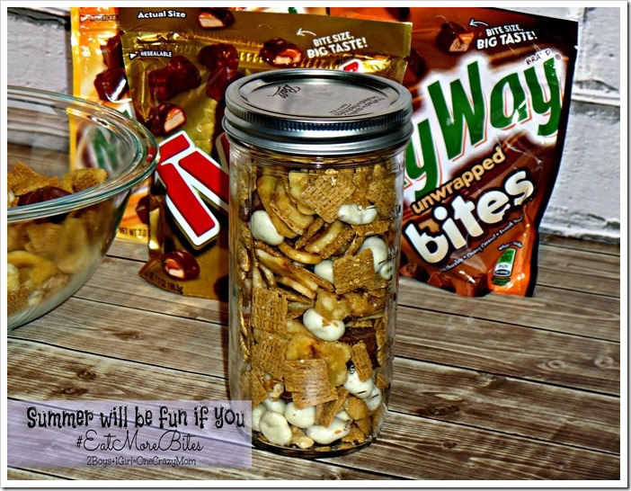 Summer will be fun if you put TWIX Bites in it and #EatMoreBites  #shop