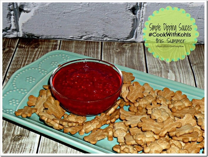 Invited to a BBQ this summer, bring simple dipping sauces and have fun #CookWithKohls Sweepstakes and Giveaway