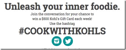 Kohls #Giveaway