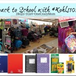 Get your Kids ready for back to school with #Kohls101 and enter a #Giveaway