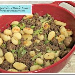 Beef & Gnocchi Casserole Dinner Idea #Recipe