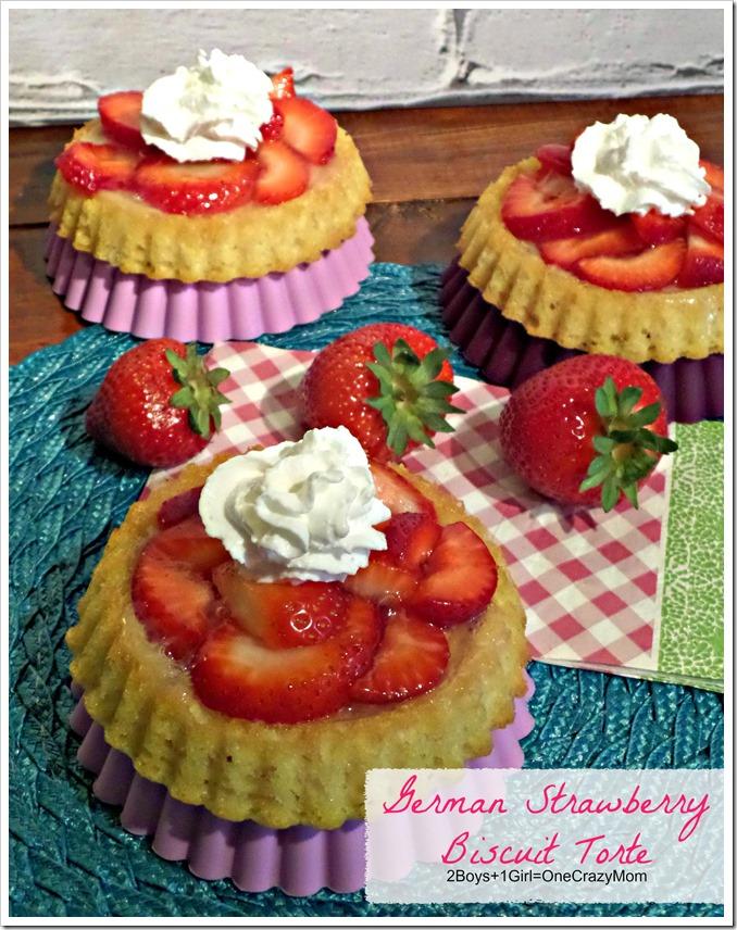 German Strawberry Biscuit Torte #Recipe
