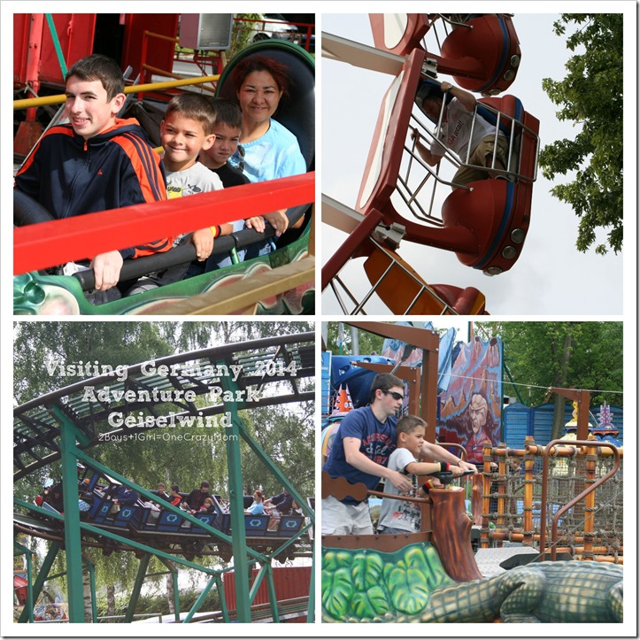 Visiting an Adventure Park from my Childhood in #Germany Freizeitland Geiselwind during our #Travels