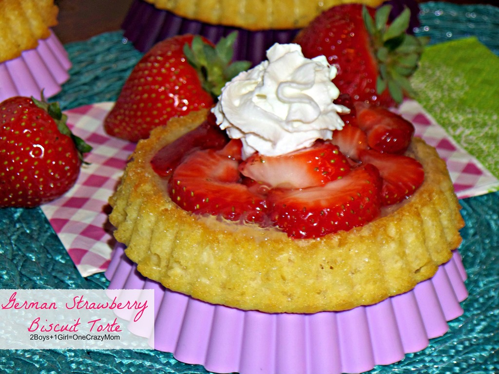 German Strawberry Biscuit Torte #Recipe