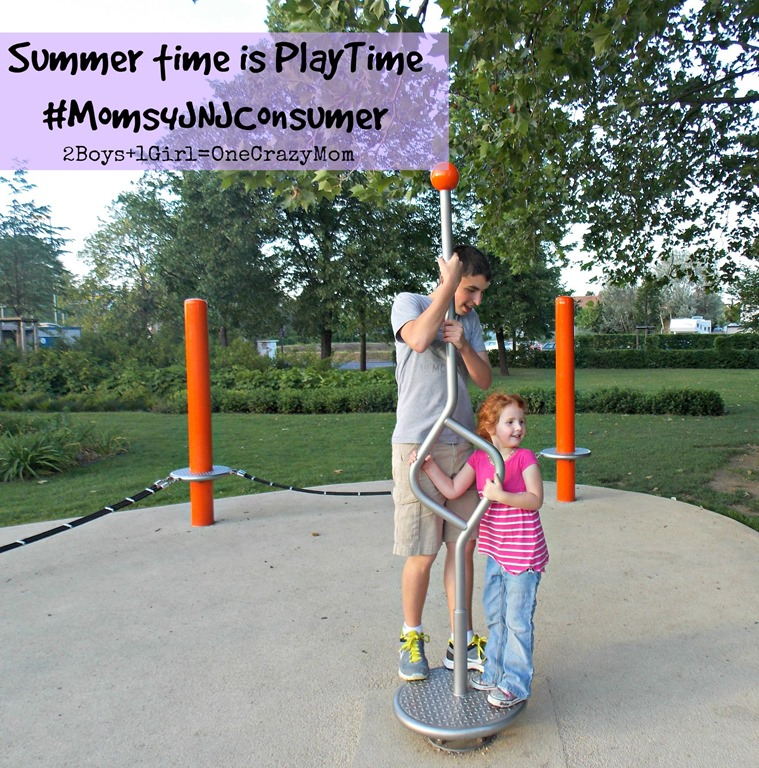Summertime is Playtime and Save on Summer Supplies with Healthy Essentials Coupons #Moms4JNJConsumer #ad