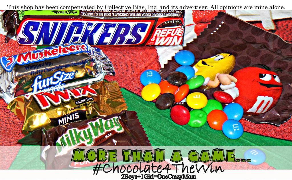 Are you ready for some Football? We are ready with Candy Bars #Chocolate4TheWin