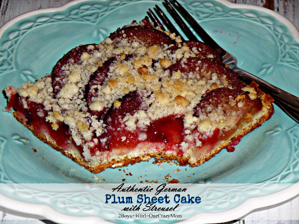 Authentic German Plum Cake Recipe