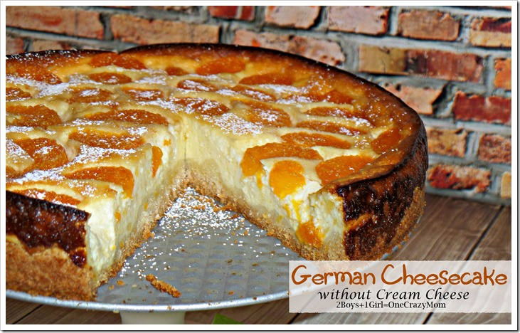 Let's bake an authentic German Cheesecake without Cream Cheese #Recipe