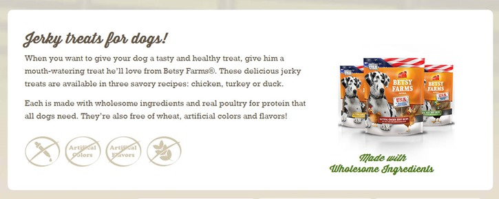 Another great USA made Dog treat company #WeLove and our Peanut Gallery is excited