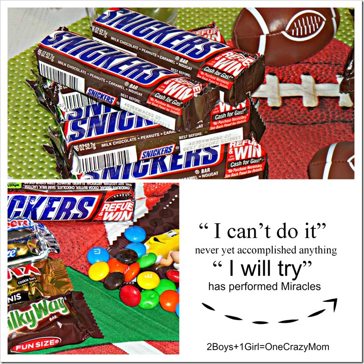 We are ready for some Football #Chocolate4TheWin #shop