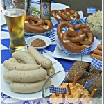 Celebrating Oktoberfest with an Authentic Bavarian Cheese Beer Spread #Recipe and simple party ideas