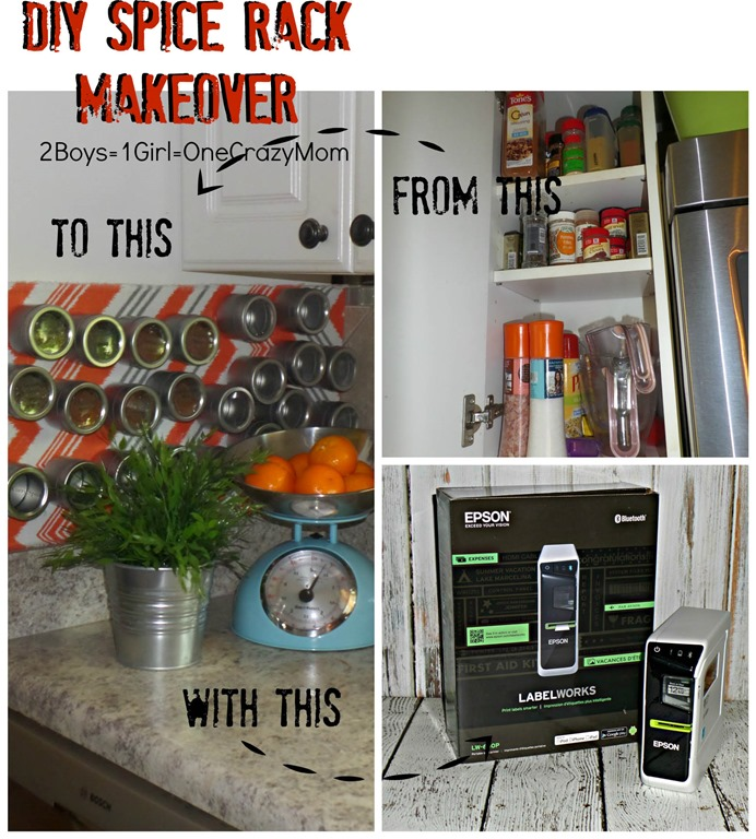 Clean Up Your Kitchen And Create A Diy Magnet Spice
