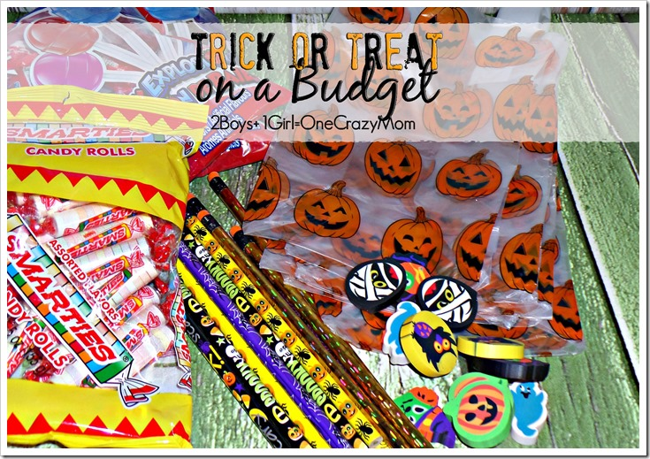 Make Trick or Treat fun and budget friendly this year with Dollar Tree