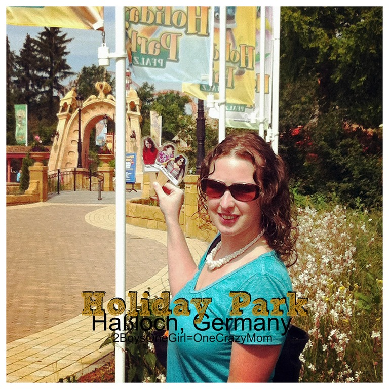 Exploring Holiday Park in Haßloch Germany during our family vacation