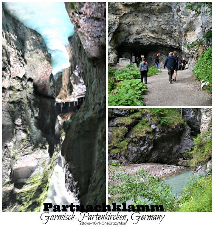 Our #Travel through Germany visiting Partnachklamm in Garmisch-Partenkirchen