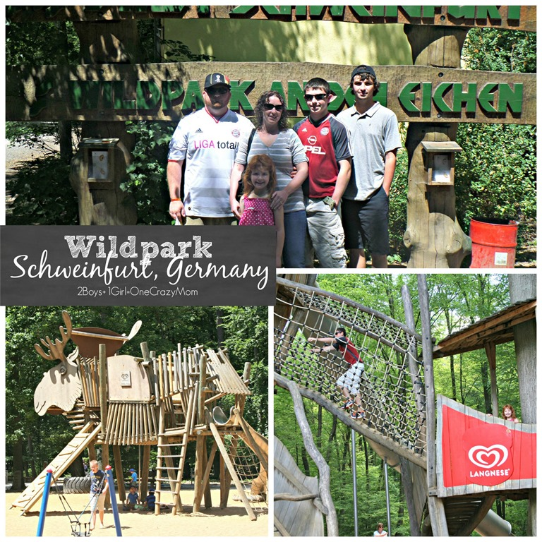 We loved the Wildpark an den Eichen in Schweinfurt Germany #Travel