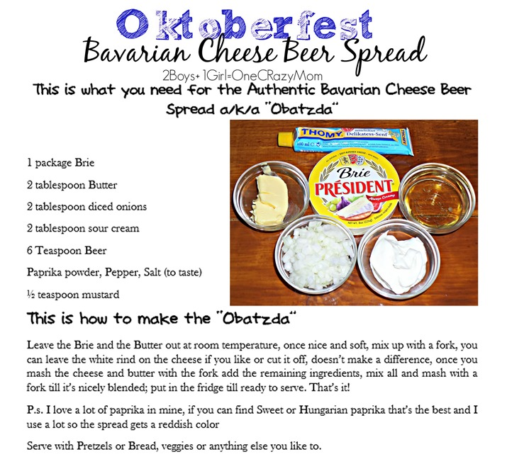 this is how to make the authentic German Beer Cheese Spread Oktoberfest Appetizer