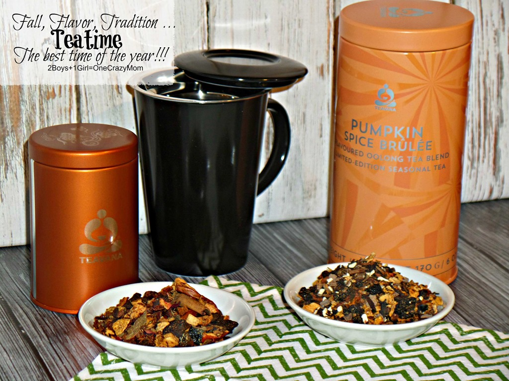 #TeavanaFallFavorites will be an awesome gift idea and keep you full of flavor all season long