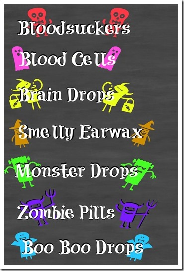 Printable 4x6 for Hallowen #SweetOrTreat